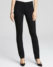 j brand Vanity Straight Leg Photo ready stretchy jeans (black) sz.28 $189 NWT