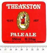 UK Beer Label - Theakston Brewery - Yorkshire - Pale Ale (version b)
