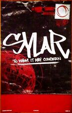 SYLAR To Whom It May Concern 2014 Ltd Ed RARE New Poster +FREE Metal Poster! NYC