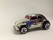 HOT WHEELS 2008 Super Chromes VW Volkswagen BEETLE BUG 40th Target  MINT LOOSE