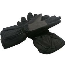 Black Winter Warm Electronic Heated Battery and USB Heating Gloves for Outdoor