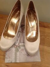 Rachel Simpson Orchid Ivory Heeled Wedding Shoes Size 8 EU 43. New in box