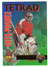 1995 JIM CAREY Signature Rookies TETRAD, Washington Capitals