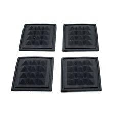 2x De Alta Calidad rectángulo caucho plástico Mochila Bolsa De Viaje Pad-pequeñas 55x45mm