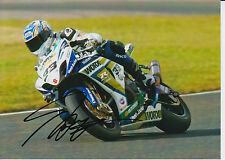 Tommy Hill Crescent Suzuki Hand Signed 7x5 Photo BSB 14.