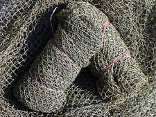Authentic~ NO SMELL~Used Nylon Fish Netting~Fishing Nets 95 to 105 sq. ft. 32.95