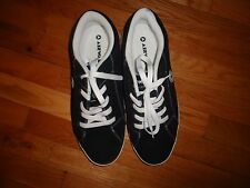 Airwalk The One Men's Skate Athletic Lace Up Shoes Sneakers Black Suede Sz 11