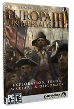 Europa Universalis III 3   Brand New Factory Sealed with large written manual