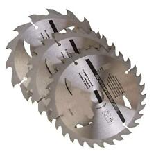 3 PIECE TCT CIRCULAR SAW BLADE SET 150 mm X 20 16 12.75 BORE 16, 24 + 30 teeth