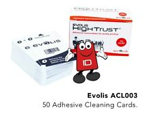 Evolis High Trust ACL003 Adhesive Cleaning Cards for Zenius, Primacy & Elypso