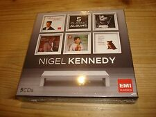 NIGEL KENNEDY 5 Classic Albums Violin Concertos EMI 5 CD BOX NEW SEALED OOP
