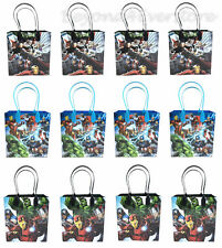 Marvel The Avengers Assemble Birthday Party Favors Goodie Bag 12pc Gift Set Bags