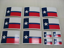 12 TEXAS THIN BLUE LINE FLAG Sticker Decals 4 POLICE boat car Window Truck suv