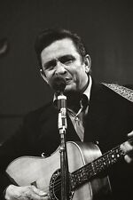 Johnny Cash Country Singer Actor Glossy Poster Music Photo Print A4