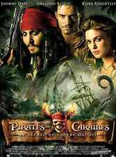 Bande annonce trailer 35mm 2006 PIRATES CARAÏBES II Coffre Maudit Johnny Deep