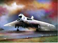 Vulcan V Bomber Avro Hawker Siddeley BAE Systems RAF airfied take off anti flash