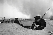 Soviet Russian Naval Infantry Stalingrad 1941 World War 2 Reprint Photo 6x4""