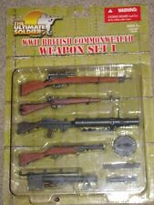 1/6 Ultimate Soldier WW2 British Commonwealth Weapon Set Lewis Gun Enfield NIP