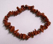 GOLDSTONE STRETCH BRACELET Stone Beads Chips Crystal Healing Chakra Reiki Wicca