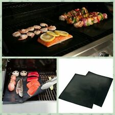 New Black Reuseable Oven & Pan Liner Baking Non-Stick Cooking Grill Mat Sheet