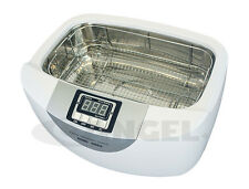 USED - 2.5L ULTRASONIC CLEANER HEATER W/ STAINLESS STEEL BASKET TIMER TATTOO