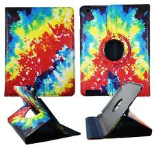 TIE DIE FOLIO CASE IPAD 2/3/4 360 ROTATING STAND TABLET COVER