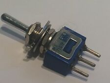 AB MINI TOGGLE SWITCH 1 WAY SPRUNG BIAS MOMENTARY RETURN CENTER OFF  fbb15a17