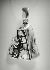STERLING SILVER PENDANT SOLID 925 MOTHER OF GOD PE000830 EMPRESS