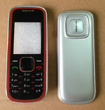 COVER HOUSING COMPATIBILE per NOKIA 5030 SILVER CON TASTIERA