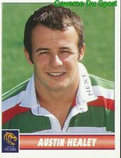 070 AUSTIN HEALEY  LEICESTER TIGERS STICKER PREMIER DIVISION RUGBY 1998 PANINI
