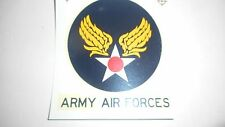 US Army Air Forces Iron On Shoulder Decal For A-2 B-3 D-1 Flight Jackets