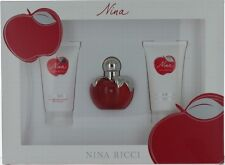 Nina by Nina Ricci for Women Gift Set - EDT Spray 1oz + BL 1.7oz + SG 1.7oz SW
