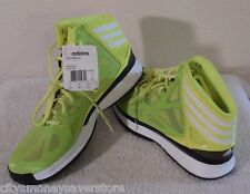 NWT Adidas Crazy Shadow 2 Mens Basketball Shoes 10.5 Electric Volt MSRP$110
