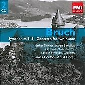 Max Bruch - Bruch: Symphonies 1-3; Concerto for Two Pianos (2009) New & Sealed