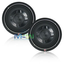 "(2) ROCKFORD FOSGATE® P3SD4-8 8"" PUNCH SHALLOW-MOUNT CAR SUBS SUB WOOFER *PAIR*"