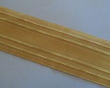 """Gold Naval Lace, 2"""" wide, 5cm, Army, Braid, Military, Uniform, Fancy, Braid"""