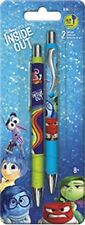 INSIDE OUT - GEL PENS 2 PACK - BRAND NEW - DISNEY PIXAR MOVIE 0087