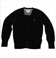 NWT $69 DIESEL GIRLS  KIOFFI CARDIGAN SWEATER BLACK SIZE SMALL