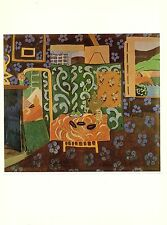 "1973 Vintage HENRI MATISSE ""STILL LIFE WITH AUBERGINES"" COLOR offset Lithograph"