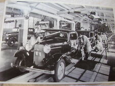 1932 FORD ASSEMBLY LINE   3-WINDOW COUPE  12 X 18 LARGE PICTURE / PHOTO