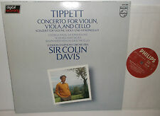 6514 209 Tippett Concerto For Violin Viola & Cello LSO Sir Colin Davis
