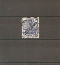 TIMBRE ALLEMAGNE DEUTSCHE KOLONIE GERMAN LEVANT N°54 OBLITERE USED