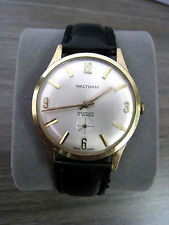Vintage Waltham Incabloc 17 Jewels Manual Hand Wind Swiss Made Men's Watch