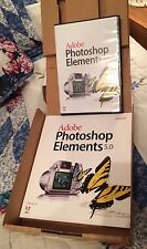 Adobe Photoshop Elements 5.0 PC Software + User Guide in Box