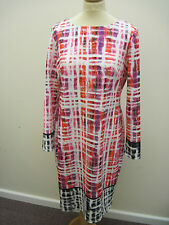 BNWT Damsel in a Dress-Size16.Long Sleeve Tunic,Abstract Print.Pink/Multi