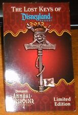 AP 2012 Lost Keys of Disneyland Pin Pirates of the Caribbean Passholder Disney