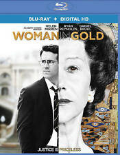 Woman in Gold (Blu-ray Disc, 2015, Includes Digital Copy; UltraViolet) NEW