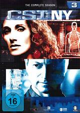 6 DVDs * CSI : NY - DIE KOMPLETTE SEASON 3 # NEU OVP §
