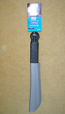 PLASTIC BUTCHERS CLEAVER KNIFE BLADE HORROR FANCY DRESS ACCESSORY PARTY