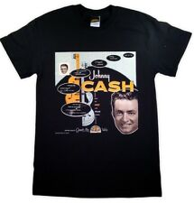 Johnny Cash - Sun Records Album Cover T-Shirt - L or XL
